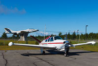 C-FMBE @ CSM3 - Parked on the apron at Thetford Mines airport. - by Charlie Shaw