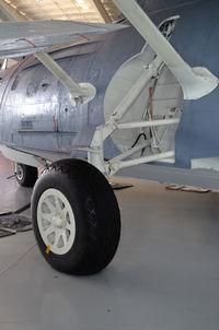 N9521C @ 42VA - BU 48294, Main landing gear, Military Aviation Museum, Pungo, VA - by Ronald Barker
