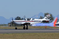 N123AJ @ KPAE - Takeoff - by Guy Pambrun