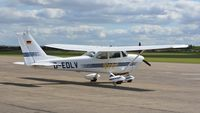 D-EDLY @ EGSU - 2. D-EDLY visiting Duxford Airfield - by Eric.Fishwick