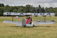 G-ACDA @ X1WP - De Havilland DH-82A Tiger Moth II at The De Havilland Moth Club's 28th International Moth Rally at Woburn Abbey. August 2013. - by Malcolm Clarke