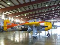 N81643 @ MAF - In the CAF hangar at Midland International