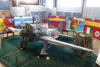 N30425 @ MAF - In the CAF hangar at Midland International
