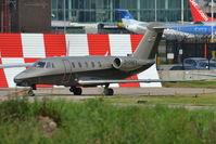 D-CREY @ EGCC - Cessna Citation 3 at Manchester Airport. - by David Burrell
