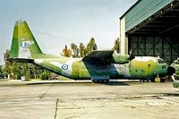 723 @ LGEL - Lockheed C-130B Hercules [3518] (Greek Air Force) Elefsis~SX 03/04/1998 - by Ray Barber