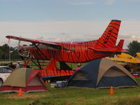 N31JA @ KOSH - Camping at its best at Oshkosh - by steveowen