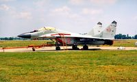 19 @ LHKE - Mikoyan-Gurevich MiG-29 Fulcrum [2960535190] (Hungarian Air Force) Kecskemet~HA 17/06/1996 - by Ray Barber