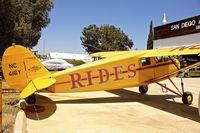 N416Y @ KSEE - At Air & Space Museum Annexe , Gillespie Field , San Diego