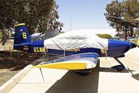N881RV @ KSEE - At Air & Space Museum Annexe , Gillespie Field , San Diego