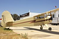 N25553 @ KSEE - At Air & Space Museum Annexe , Gillespie Field , San Diego