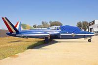 N28JV @ KSEE - At Air & Space Museum Annexe , Gillespie Field , San Diego