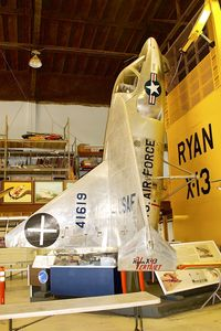 54-1619 @ KSEE - At Air & Space Museum Annexe , Gillespie Field , San Diego - by Terry Fletcher