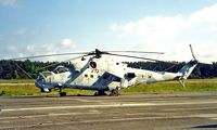 96 43 @ EDBG - 96+43   Mil Mi-24P Hind [340333] (German Air Force] Berlin-Gatow~D 20/05/1998. Preserved