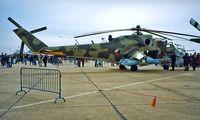 0710 @ EGUN - Mil Mi-24V Hind [730710] (Czech Air Force) RAF Mildenhall~G 26/05/1996 - by Ray Barber