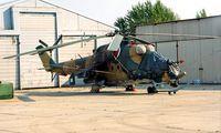 711 @ LHSA - Mil Mi-24W Hind [220711] (Hungarian Air Force) Szolnok~HA 17/06/1996