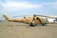 SU-97 @ FASK - Mil Mi-24A Hind [4202034] (Algerian Air Force) Swartkop~ZS 06/10/2003