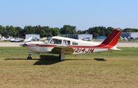 N214JM @ KOSH - Piper PA-28R-201T