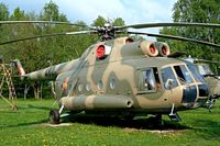 93 98 @ ETHT - Mil Mi-9A Hip-G [34001] German Air Force) Cottbus~D 06/05/2002. Displayed here in former DDR markings serial 482.