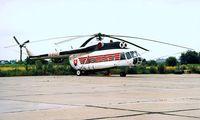 B-8427 @ LZIB - Mil Mi-8P [10827] (Slovakian Police) Bratislava-M R Stefanick~OM 21/06/1996