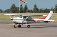 G-BNUT @ EGSH - Judt landed at Norwich. - by Graham Reeve