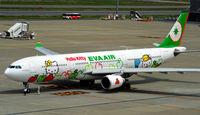 B-16332 @ RJTT - Hello Kitty, Eva Air's new Airbus A330/300 at Haneda - by JPC