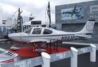 N991PC @ LFPB - Cirrus SR22T at the Aerosalon 2013, Paris