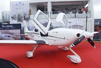 N312PG @ LFPB - Cirrus SR22 at the Aerosalon 2013, Paris