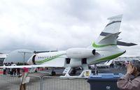 F-HMCG @ LFPB - Dassault Falcon 2000S at the Aerosalon 2013, Paris