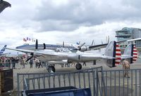 N25Y @ LFPB - Lockheed P-38L Lightning at the Aerosalon 2013, Paris