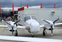 OE-FMV @ LFPB - Diamond DA-42 MPP-NG Geo Star / Airborne Sensors at the Aerosalon 2013, Paris