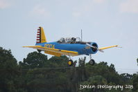 N75004 @ KSRQ - Vultee BT-15 Valiant (N75004) arrives at Sarasota-Bradenton International Airport - by Donten Photography