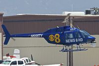 N688TV @ KSEE - At Gillespie Field San Diego - by Terry Fletcher