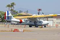 N427CV @ KSEE - At Gillespie Field San Diego