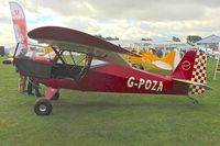 G-POZA @ EGBK - At 2013 LAA Rally at Sywell UK - by Terry Fletcher