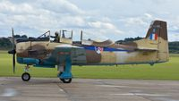 N14113 @ EGSU - 1. N14113 at The Duxford Air Show, Sept. 2013. Displayed in the markings of the Free-French AF, Algeria.