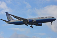 N649UA @ EGLL - United Airlines - by Chris Hall