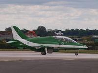 8806 @ EGXW - Waddington Airshow 2012 - by Philip Cole
