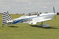 G-NFON @ EGBK - Attended the 2013 Light Aircraft Association Rally at Sywell in the UK - by Terry Fletcher