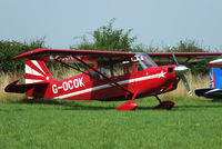 G-OCOK @ EGMJ - at the Little Gransden Air & Vintage Vehicle Show - by Chris Hall