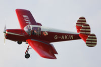 G-AKIN @ EGMJ - at the Little Gransden Air & Vintage Vehicle Show - by Chris Hall