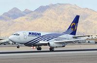 XA-MAD @ KLAS - XA-MAD Magnicharters Boeing 737-277/Adv (cn 22652/831)  McCarran International Airport (KLAS) TDelCoro September 12, 2013 - by Tomás Del Coro
