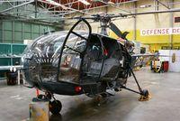 262 @ LFRL - Aérospatiale SA-319B Alouette III, Lanvéoc-Poulmic Naval Air Base (LFRL) - by Yves-Q