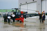 358 @ LFRL - Aérospatiale SA-319B Alouette III, Lanvéoc-Poulmic Naval Air Base (LFRL) - by Yves-Q