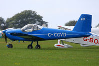 G-CGVD @ EGBK - at the LAA Rally 2013, Sywell - by Chris Hall