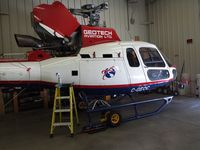 C-GEOC @ KTUS - c-geoc getting some tlc at tus after working hard in mx - by Ehud Gavron