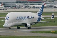 F-GSTB @ LFBO - Airbus A300B4-608ST Beluga, Toulouse-Blagnac Airport (LFBO-TLS) - by Yves-Q