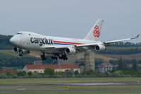 LX-RCV @ VIE - Cargolux Boeing 747-400
