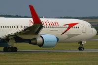 OE-LAE @ VIE - Austrian Airlines Boeing 767-300