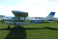 G-BYES @ EGBK - at the LAA Rally 2013, Sywell - by Chris Hall