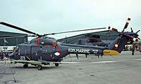 273 @ EGDY - Westland Lynx SH-14B [130] (Royal Netherlands Navy) RNAS Yeovilton~G 31/07/1982. Taken from a slide. - by Ray Barber